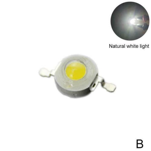 1pcs 3W LED High-Power Imitation Lumen Lamp Beads 350MA//740MA Y0C6
