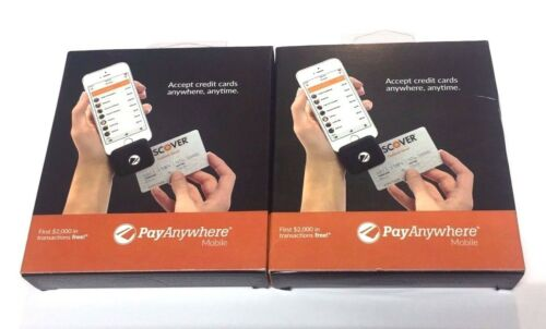 iPad and Android LOT of 2 Credit Card Reader for iPhone PayAnywhere