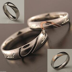 4-or-5mm-Stainless-Steel-Womens-Mens-Wedding-Band-Love-Heart-Couples-Ring-H-Z5