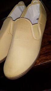 et unisexe Casual à beige gousset confortables Chaussures légères Chaussures plates toile qYwzpwPx