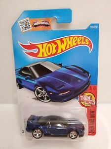 Rare-Hot-Wheels-Then-And-Now-90-Acura-NSX-Super-Treasure-Hunt-Blue-Honda-2015