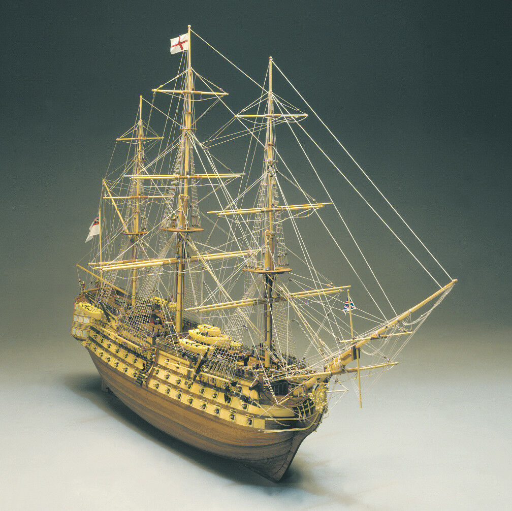 Mantua Models HMS Victory Nelson's Flagship 1 98 Static Model Kit