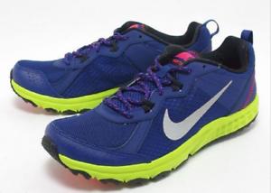 hombre nike Wild Trail Running Athletic 642833 zapatos Azul / Lime 642833 Athletic 400 tamaño 10 reducción de precio 3ac4cd