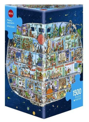 SPACESHIP Heye Puzzle 29841-1500 Teile Pcs. MATTIAS ADOLFSSON