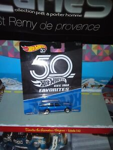 Hot-Wheels-Favorites-50-th-anniversary-039-71-Datsun-Bluebird-510-Wag-NEUF-EN-BOITE