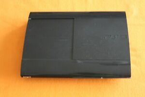 Sony Playstation 3 schwarz super slim Mod Cech-4004A nur die Konsole