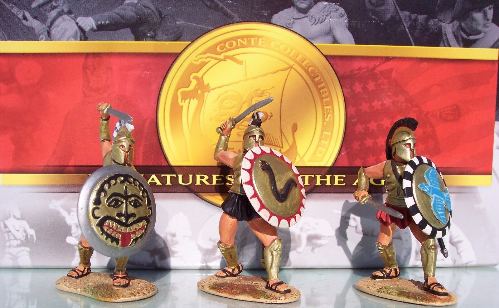 CONTE COLLECTIBLES COLLECTOR'S CLUB CCC17 ANCIENT GREEKS MIB