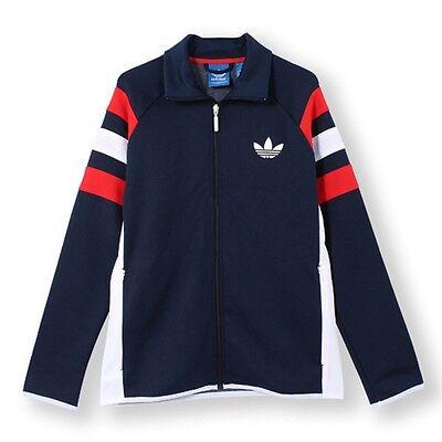 Adidas Jacket zip down navy blue bnwt, Men's Fashion