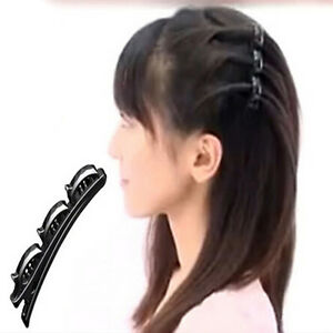 Fashion-Practical-Women-Double-Hair-Pin-Clips-Barrette-Comb-Hairpin-Hair-Disk