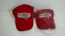 RED HAT BUBBA GUMP SHRIMP CO. ONE SIZE FITS ALL FOREST GUMP