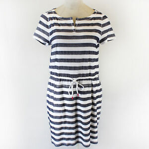 NEW-Talbots-Plus-size-spring-summer-nautical-striped-belt-dress-1X-Retail-89-50