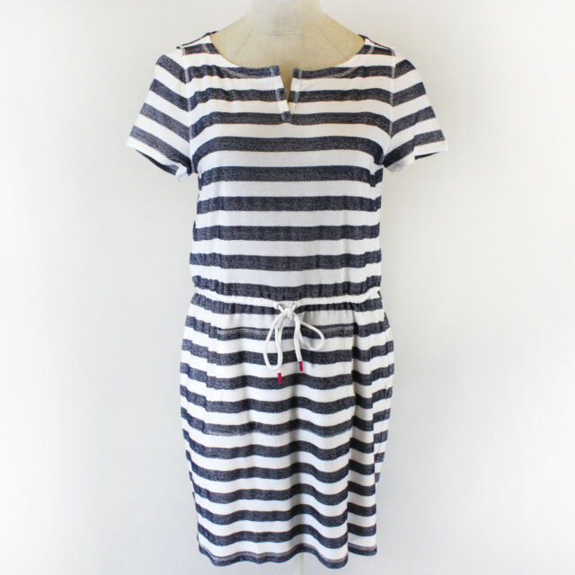 NEW Talbots Plus size spring summer nautical striped belt dress 3X Retail 89.50$