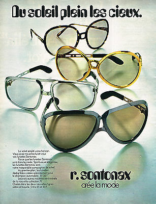 Breweriana, Beer Publicite Advertising 1971 Sontonax Optique Lunettes High Quality And Low Overhead Collectibles