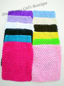 8 Crochet Headband Tutu Tube Top Photo Prop Diy Costume Baby Girl