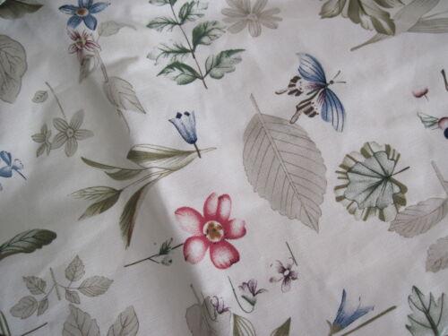 Longaberger~ Botanical Fields Fabric Liner for S/&S Large Desktop Basket ONLY