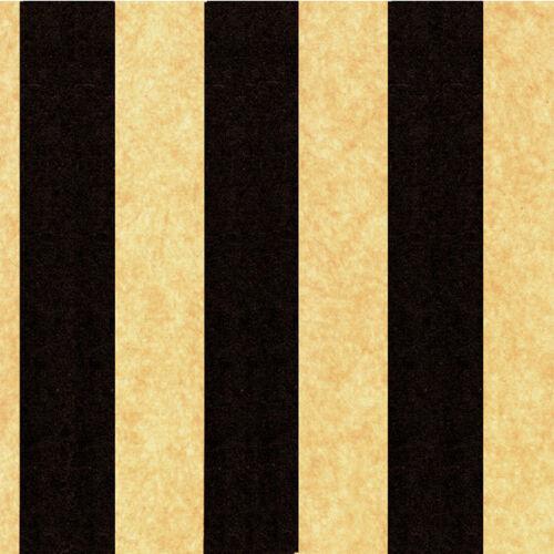 Black//Kraft Lines Tissue Paper Multi Listing 500x750mm