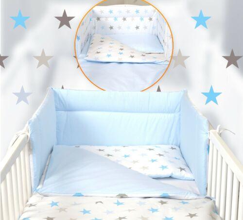 3 o 5 Piezas Cuna Bebé Cama Set-Fit 120x60cm O Cuna 140x70 50 Diseños