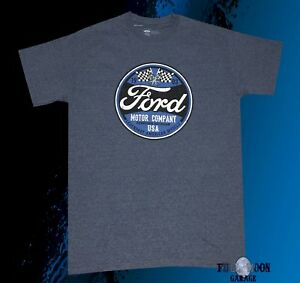 New Ford Motor Company Usa Classic 1903 Men S Vintage T Shirt Ebay