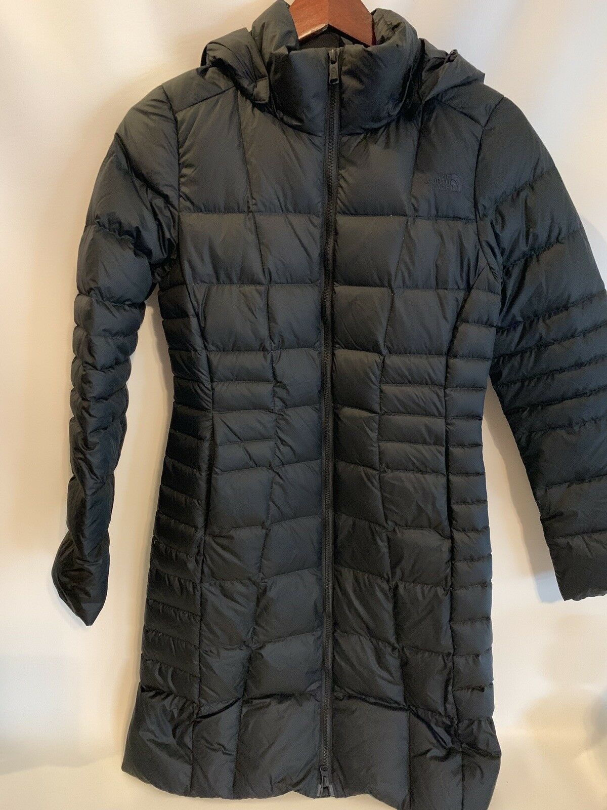 The North Face 550  Down Fill Long Parka Coat Size XS