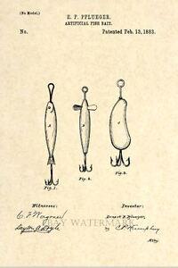 Official-Fishing-Lure-US-Patent-Art-Print-Circa-1883-Antique-Vintage-Art-80