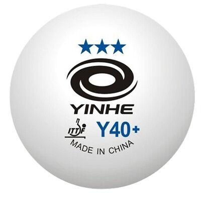 Table Tennis Balls Yinhe 6 x 3-Star White Ping pong balls cheap ITTF tennis ball
