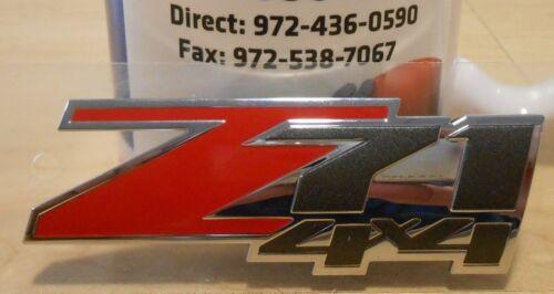 "New OEM /""Z71 4X4/"" Body Nameplate 2005-2014 Chevrolet Avalanche Tahoe Suburban"