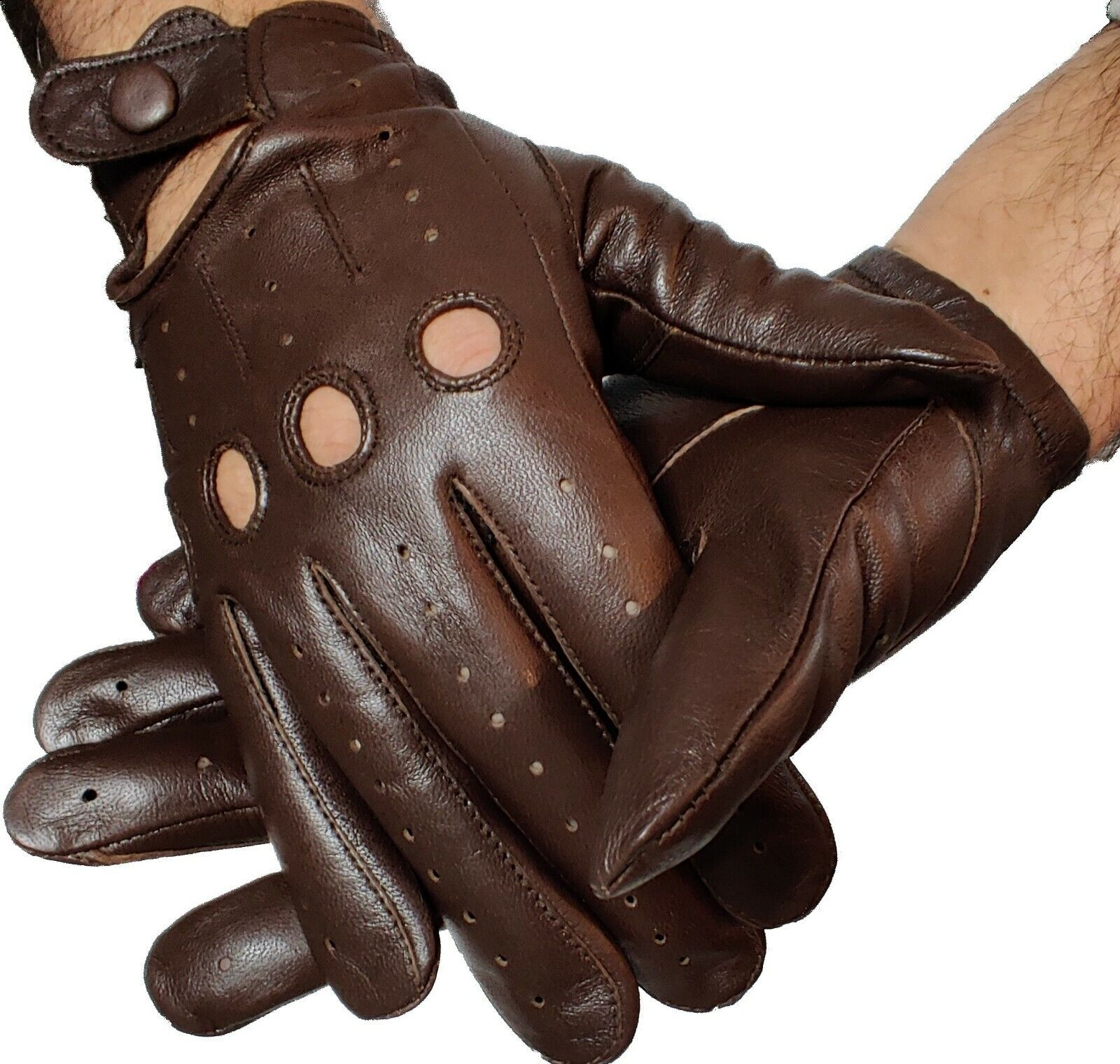 gloves genuine driving gloves sheepskin leather soft perfect fit best quality,