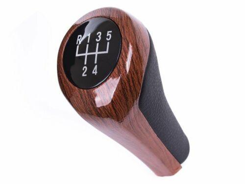 Schaltknauf 5G Holz für BMW E39 E46 E90 E91 E92 E93 E81 E82 E87 E60 E61 E53 E83