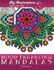 Item 8 Mandala Designs Art Coloring Books Adults Book Stress Relieving Patterns Relax