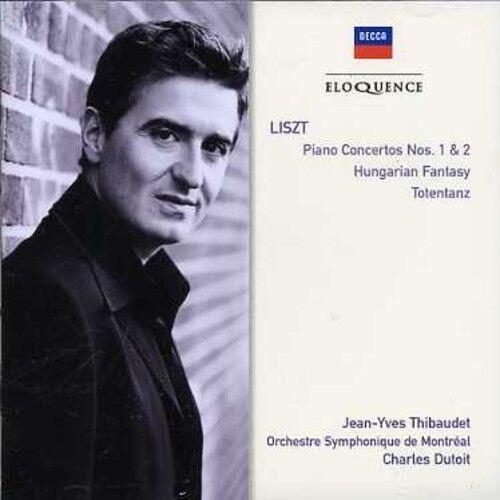 Liszt / Thibaudet / - Liszt: Pno Ctos Nos 1 & 2 / Hungarian Fantasy [New CD]