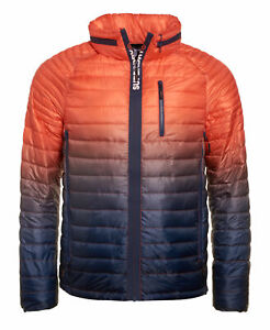 Mens Superdry Power Fade Jacket Lime