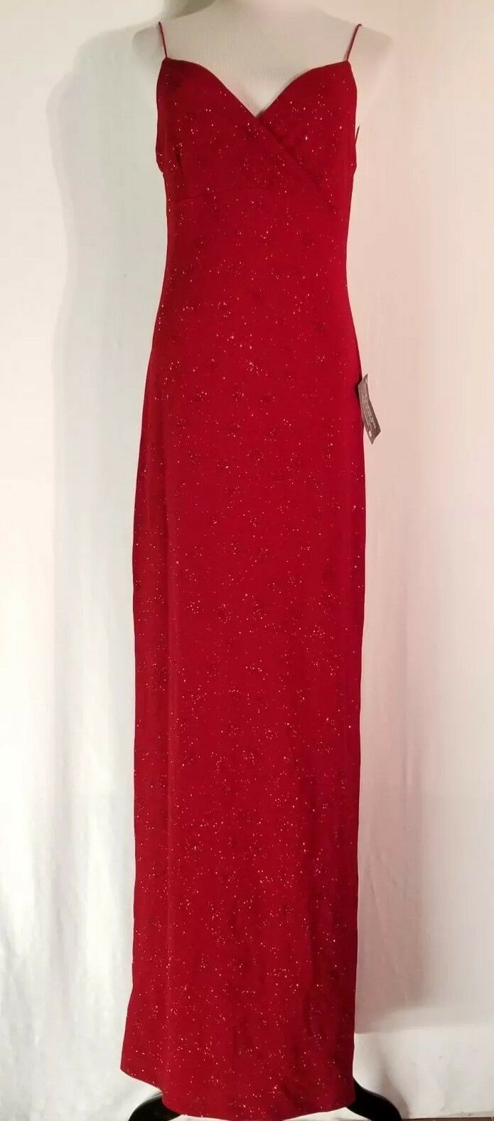 Women's a fortiori Sparkly Red Formal Vintage Size Large NWT O35