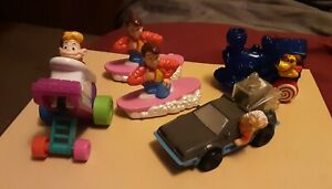 1991-McDonald-039-s-Happy-Meal-Toys-Lot-of-5-BACK-TO-THE-FUTURE-Figures