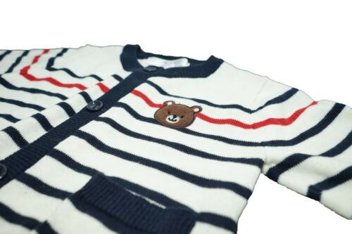 Baby /& Toddler Boy or Girl Cardigan Sweater Crew Neck Button Soft Knitted