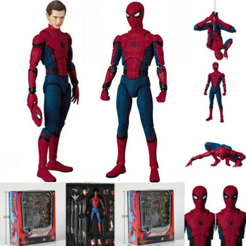 PVC Toy Action Figure In Box Mafex No 047 Spider-Man Homecoming Ver