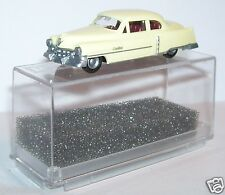MICRO PRALINE HO 1/87 CADILLAC 54 CADDY LIMOUSINE JAUNE CREME IN BOX