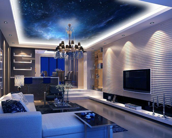 3D Deep Sky Space Ceiling WallPaper Murals Wall Print Decal Deco AJ WALLPAPER GB