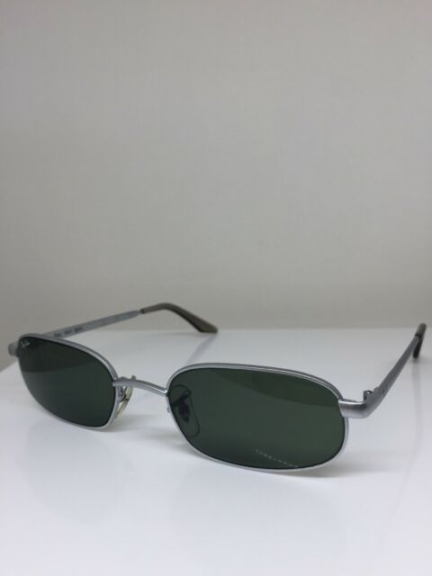 New Vintage Ray Ban Bausch & Lomb W2192 Sunglasses Brushed Matte Silver w/ G-15