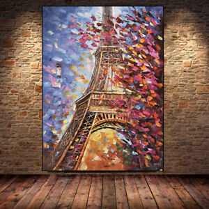 hand painted oil paintings on canvas modern abstract palette knife