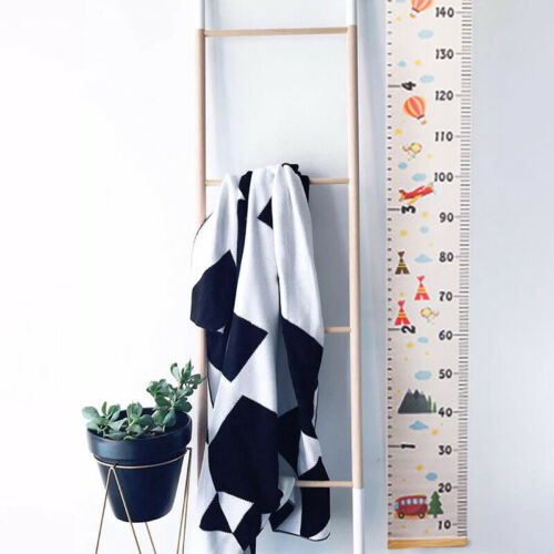 Baby Kids Height Measurement Ruler Chart Wall Sticker Decal Removable 20*200cm