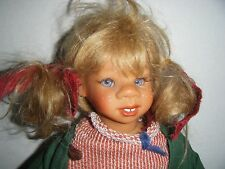 """GOTZ GIRL DOLL TRUDI NOS with tags 13"""" numbered 73/750 1998 Susi Eimer Limited"""