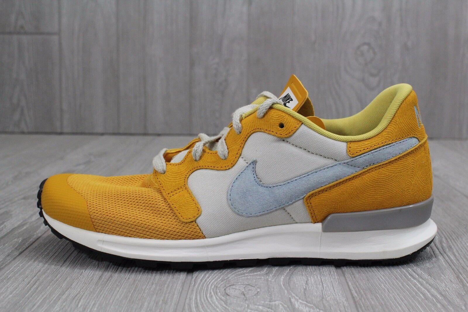 24 New Nike Air Berwuda Premium Gold 844978 Leaf Bone Men's Shoe 844978 Gold 700 Size 10.5 5e4fed