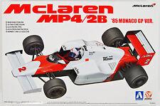 AOSHIMA 1/20 BEEMAX 09 McLaren Mp4 / 2b '85 Monaco Grand Prix