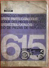 Fiat Trattori 615 Ersatzteilkatalog