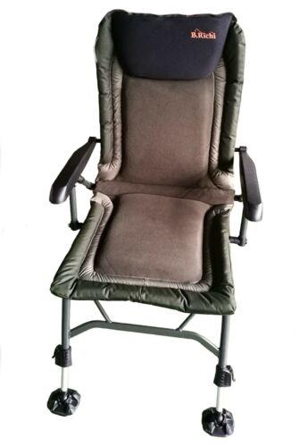 B.Richi Relax Pro Carp Chair Karpfenstuhl Angelstuhl Campingstuhl Anglerstuhl