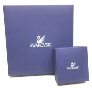 2 Swarovski BOXES - Box Only, Necklace and Bracelet
