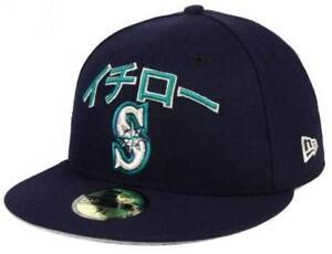 a0b8b770 Details about 2018 MLB Seattle Mariners Ichiro Suzuki Final Season New Era  59FIFTY Fitted Hat