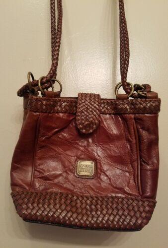 Avenue Weaved Handbag 350 Cartera Leather Vintage Fifth Brown w7zz1a