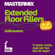 Mastermix Extended Floor Fillers Halloween DJ CD Ft Monster Mash & Thriller NEW