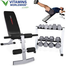 CAP SDGS-150R Solid Hex Dumbbell Set with Rack 150 Pound